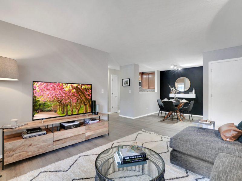 TGM Park Meadows Apartments Living Room 2
