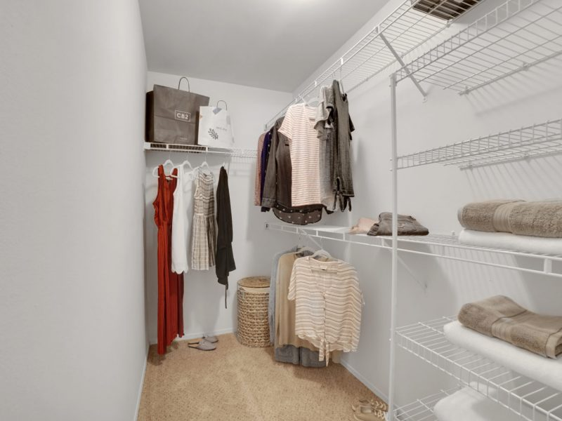 TGM Park Meadows Apartments Walk-in closet 2
