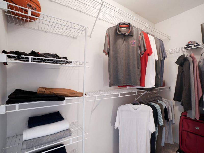 TGM Park Meadows Apartments Walk-in closet